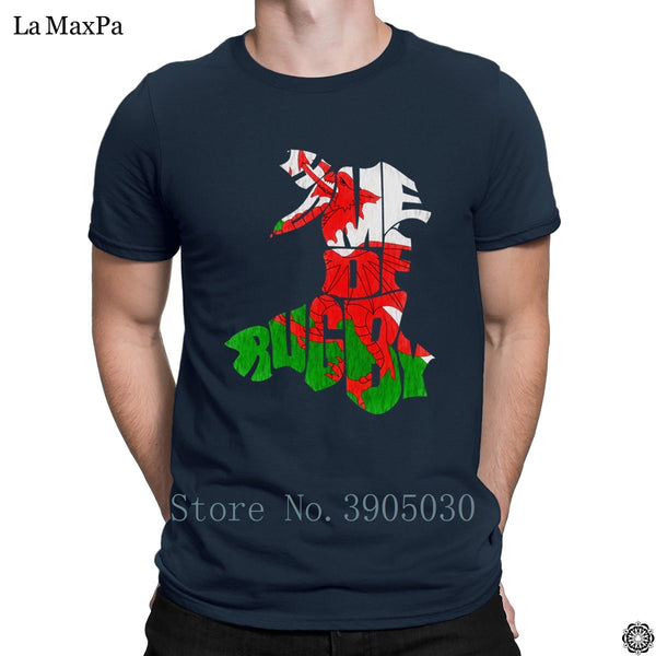 Super Plus Size 3xl Mens T-Shirt Wales Home Of Rugbys T Shirt Original Tshirt Man Branded Spring Autumn Tee Shirt Pop Top Tee - Rugby Gear Online