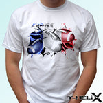 France Rugby flag - white t shirt - Rugby Gear Online