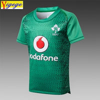 Yigege Ireland IRFU kids jersey 2019 home shirt Irish Youth rugby Jerseys League rugby shirts AAA - Rugby Gear Online