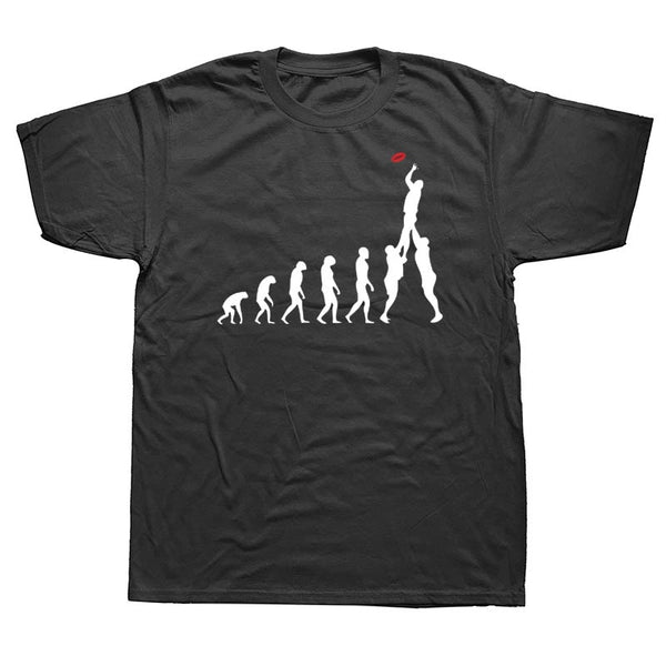 Rugby Evolution of Man T-Shirt - Rugby Gear Online