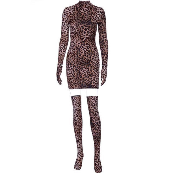SPOTS & DOTS DRESS WITH STOCKINGS