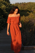 Camilla Ruffle Hem Maxi Dress