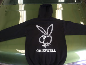 Zip Up Hoodie BUNNY CHAIN or MOTHER TRUCKER - Cruzwell Mfg