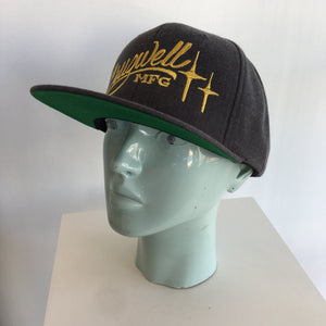 Script Charcoal Hat - Cruzwell Mfg