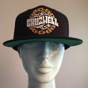 Chain hat (gold chain)