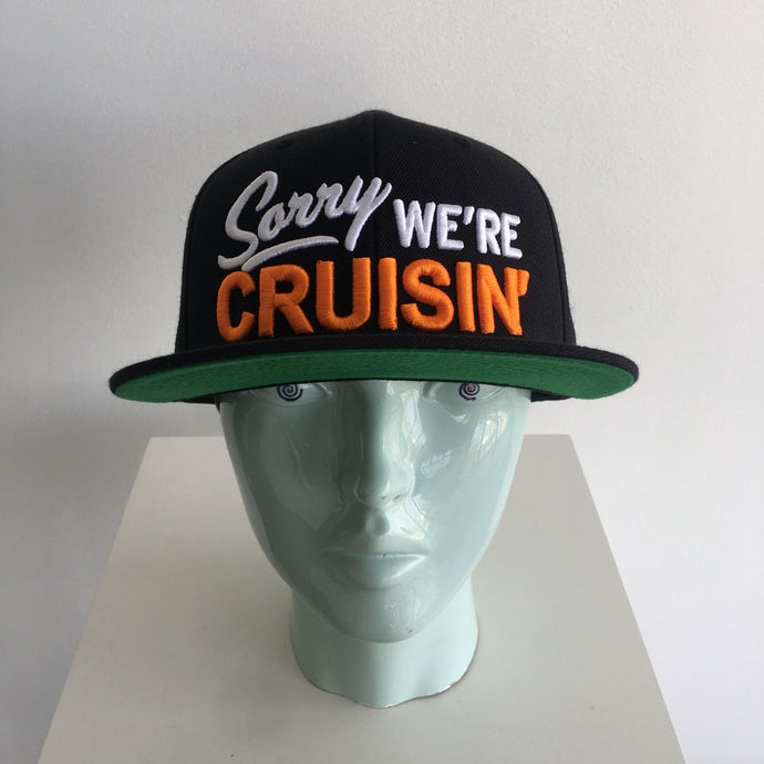 Sorry We're Cruisin Hat - Cruzwell Mfg