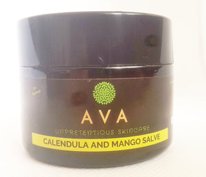 MANGO BUTTER AND CALENDULA SALVE