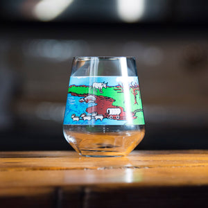 Oregon Trail Glass