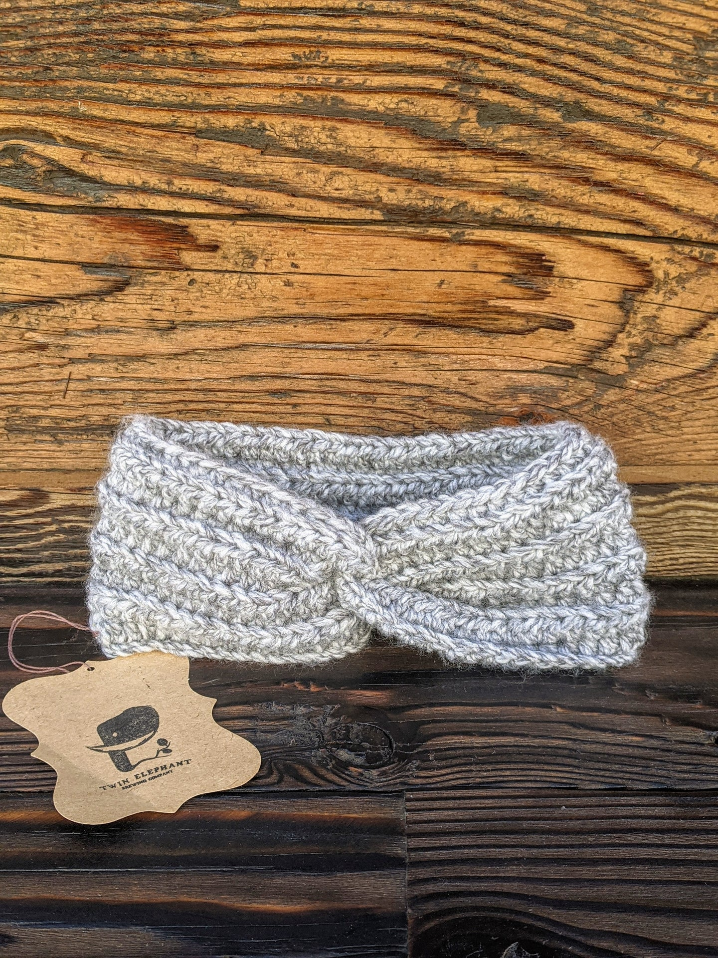 Adult Handmade Knit Twist Headband