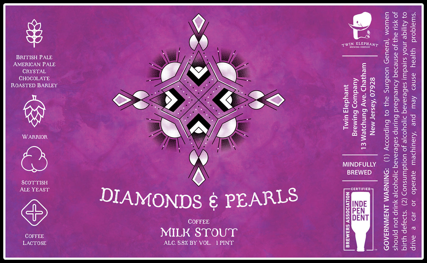 Diamonds & Pearls - Four Pack