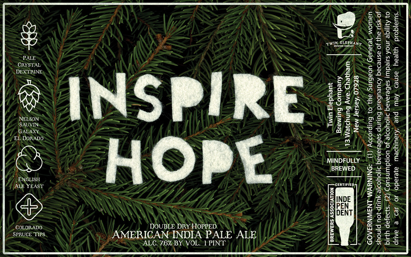 Inspire Hope: Spruce Tips - Four Pack