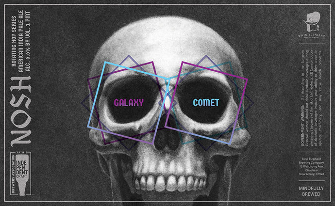 Nosh: Galaxy & Comet - Four Pack