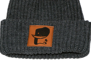 Lumberjack Leather Patch Beanie