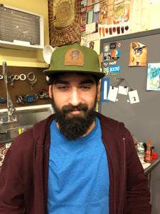 Lumberjack Leather Patch Hat