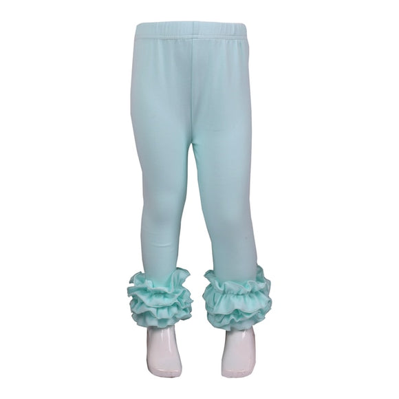Light Mint Ruffles
