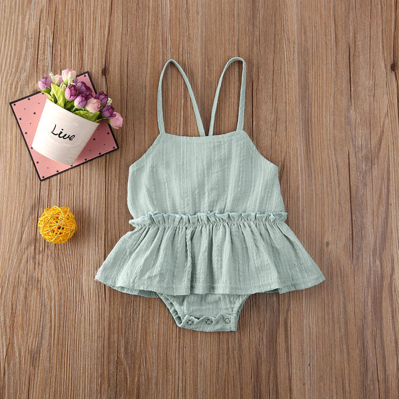 Ana Backless Tutu Sunsuit