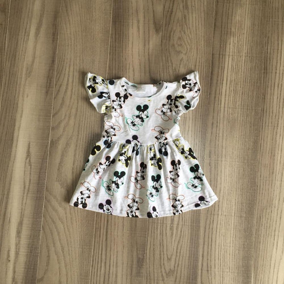 Mickey Mouse Flutter Sleeve Dress