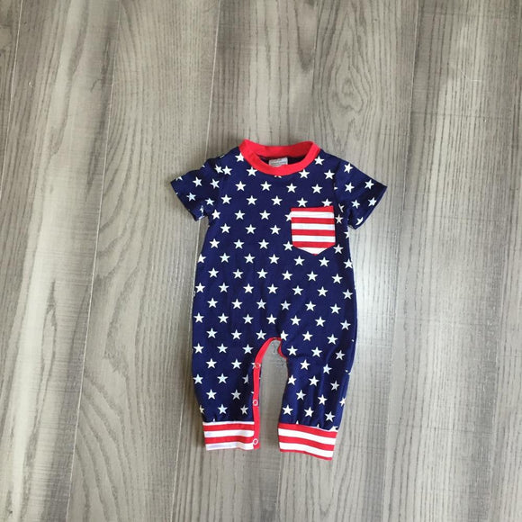 Stars & Stripes Romper Jumpsuit