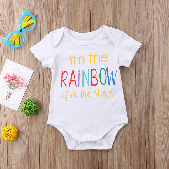 I'm The Rainbow After The Storm Bodysuit
