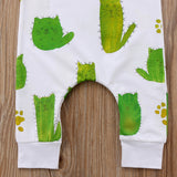 Kitty Cat Cactus Playsuit