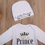 The Prince Has Arrived Bodysuit W/ Cap