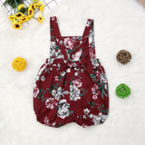 Floral Baby Crossback Sunsuit