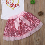 Big Sister Little Sister Matching Tutu Skirt Outfits