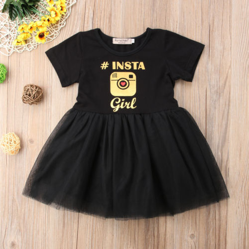 #Instagirl Short Sleeve Tutu Dress