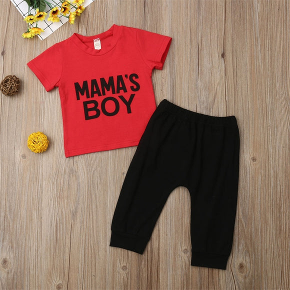 Mama's Boy Outfit Set
