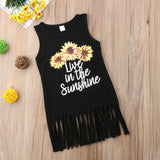 Live In The Sunshine Tassel Dress