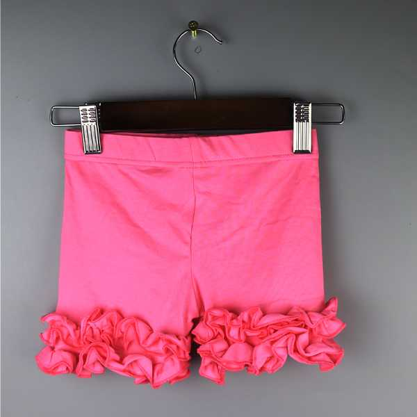 Solid Color Ruffle Shorties
