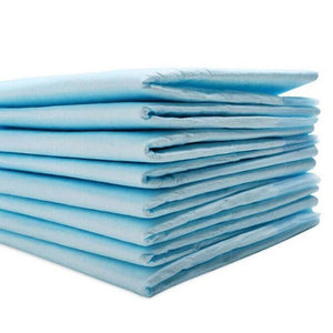 10 Pack Dog Pee Pads Super Absorbent And Clean Blue / 45 X 60 Cm