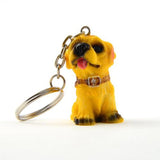 12 Piece Dog Key Chain (Assorted Pack) Durable Metal 13 Keychains