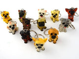 12 Piece Dog Key Chain (Assorted Pack) Durable Metal 01 Keychains
