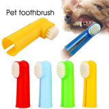 2 Pcs Pet Finger Toothbrush