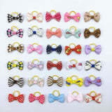 20 Pack Multi-Variety Bowties For Dogs Suitable Female / One Size Bow-Tie