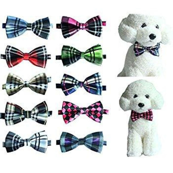 20 Pack Multi-Variety Bowties For Dogs Bow-Tie