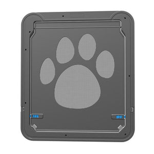 Automatic Magnet Closure Dog Door For Mesh Screen