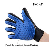 Dog De-Shedding And Massaging Glove Multi-Colors Grooming