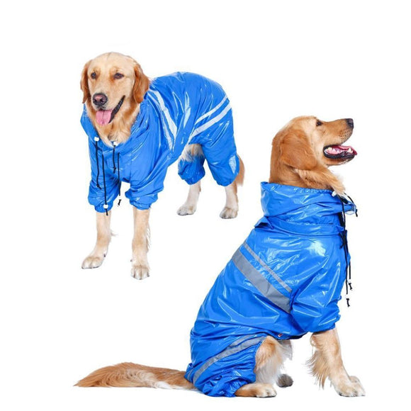 Dog Raincoat (For Large-Sized Dogs)