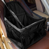 Dog Travel Car Seat Black Bag