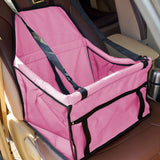 Dog Travel Car Seat Pink Bag