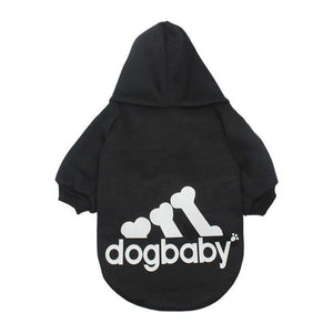 Dogbaby Themed Dog Sweaters Warm Red / L Sweater