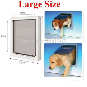 Easily-Installable Dog Door (Medium And Large Sizes Available)