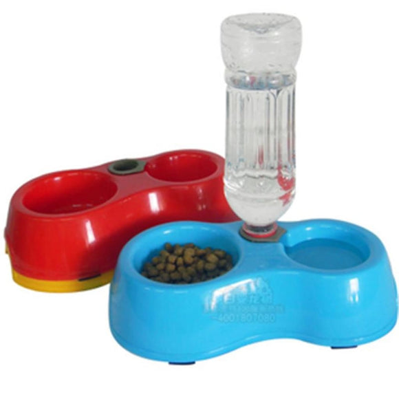 Food And Water Dispensing Bowl Bowls & Feeders