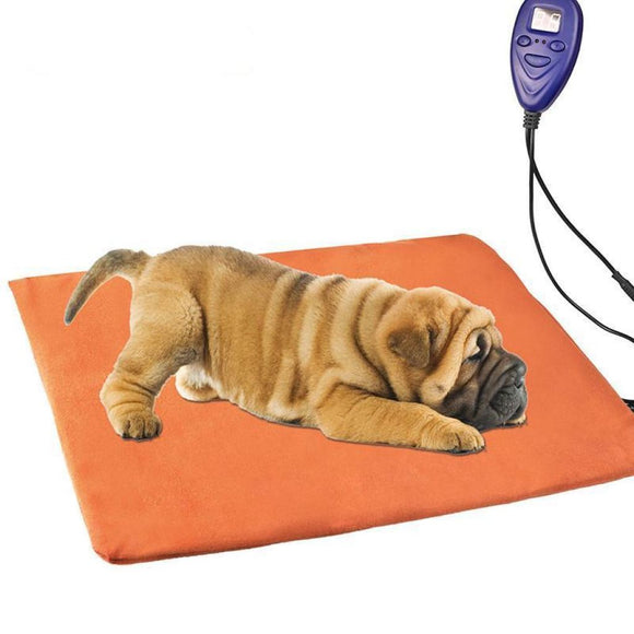 Heated Waterproof Chew-Resistant Electric Dog Blanket Bed