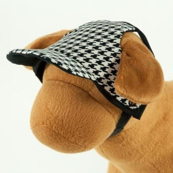 Houndstooth Dog Hat M Hats