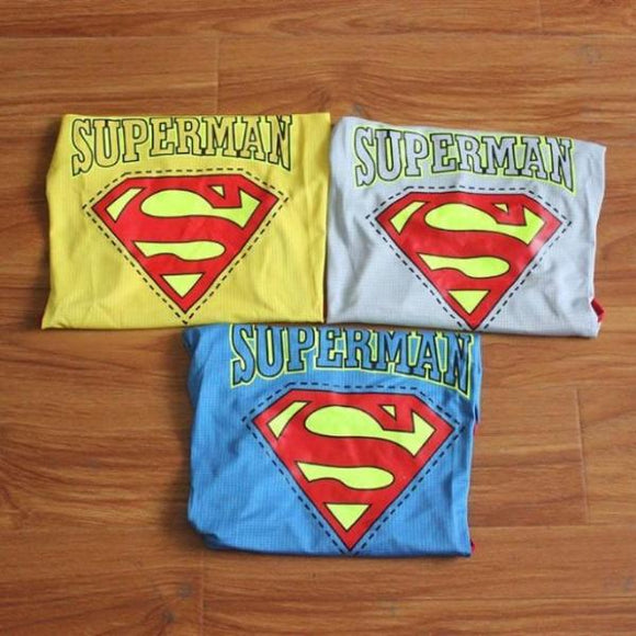 Large Cotton Dog Superman T-Shirts/ Costume Clothing
