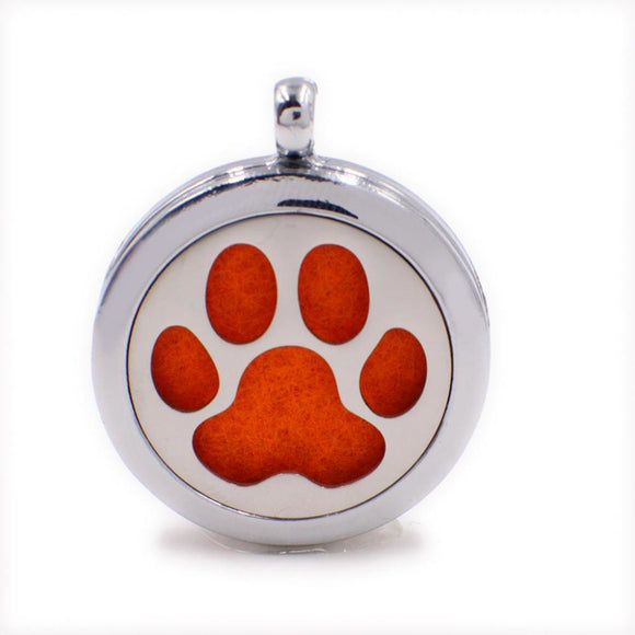 Magnetic Aromatherapy Dog Necklace