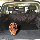 Non-Slip Waterproof Car Cover/hammock For Dogs Black Seat Covers